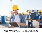 business  building  teamwork ... | Shutterstock . vector #246298105