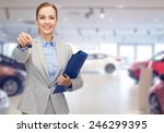 auto business  car sale ... | Shutterstock . vector #246299395