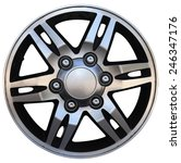car wheel  car alloy rim on... | Shutterstock . vector #246347176