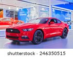 detroit   january 13  a ford... | Shutterstock . vector #246350515