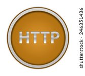 http circular icon on white... | Shutterstock . vector #246351436
