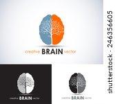 Brain Tree Business Concept...