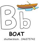letter b boat