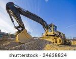 bulldozer   Shutterstock . vector #24638824