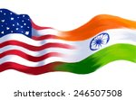 Illustration Of India America...