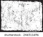 grunge frame.distress frame... | Shutterstock .eps vector #246511696