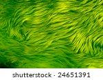 A Close Up Of An Green Fake Fu...