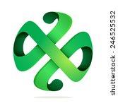 h letter vector logo icon...   Shutterstock .eps vector #246525532