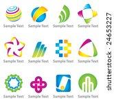 set of abstract elements. vector | Shutterstock .eps vector #24653227