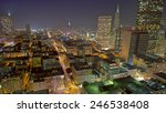 san francisco cityscape with a... | Shutterstock . vector #246538408