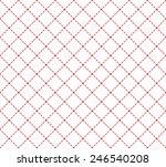 Stock vector seamless pink vintage pattern background for designer 246540208