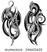 tattoo  element | Shutterstock .eps vector #246602635