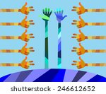 our world has a lot of colors...   Shutterstock .eps vector #246612652