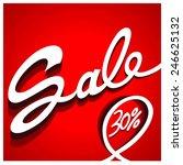 sale percent  | Shutterstock .eps vector #246625132