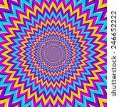 spin illusion | Shutterstock .eps vector #246652222