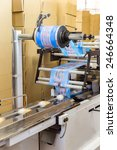 automatic packing line of ice... | Shutterstock . vector #246664348