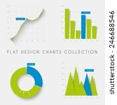 set of vector flat design... | Shutterstock .eps vector #246688546
