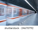 metro station with an highspeed ... | Shutterstock . vector #24670792