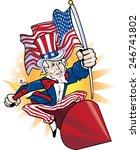 uncle sam | Shutterstock .eps vector #246741802