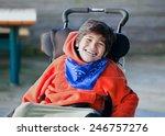 handsome  happy biracial eight... | Shutterstock . vector #246757276