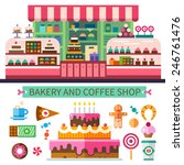 Bakery And Coffee Shop. Cafe...