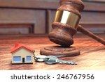 house court case | Shutterstock . vector #246767956