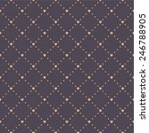 seamless geometric pattern with ... | Shutterstock .eps vector #246788905