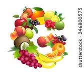 vector illustration letter g...   Shutterstock .eps vector #246800575