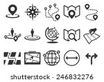 map vector illustration icon... | Shutterstock .eps vector #246832276