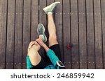 Resting Sportsman's Legs...