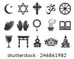 religious vector illustration... | Shutterstock .eps vector #246861982