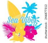 surf summer icon  vector design ...   Shutterstock .eps vector #246877312