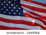 american flag close up | Shutterstock . vector #2469068