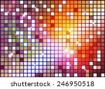 abstract background with shiny... | Shutterstock .eps vector #246950518
