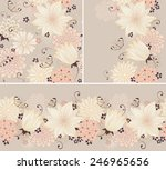 Floral Seamless Background And...