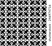 gothic seamless pattern with... | Shutterstock .eps vector #246974716