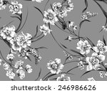classic wallpaper seamless... | Shutterstock . vector #246986626