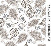 seamless pattern seamless... | Shutterstock .eps vector #246997492