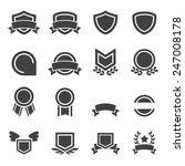 emblem icon | Shutterstock .eps vector #247008178
