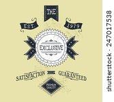 hand lettered catchword vintage ...   Shutterstock .eps vector #247017538