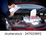 Mechanic Working In Auto Repai...