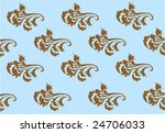blue wallpaper with repetitive... | Shutterstock .eps vector #24706033