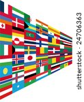 flags | Shutterstock .eps vector #24706363