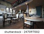 restaurant cafe interior | Shutterstock . vector #247097002