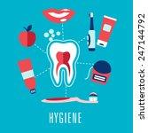 Dental Hygiene Medical Concept...