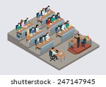 business training education... | Shutterstock .eps vector #247147945