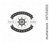 retro vintage insignia ...   Shutterstock .eps vector #247152022