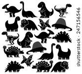 vector set of different cute... | Shutterstock .eps vector #247156546