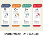 abstract infographic. can be... | Shutterstock .eps vector #247166038