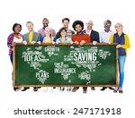 saving finance global finance... | Shutterstock . vector #247171918